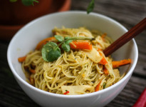 Mie-Nudeln Thai-Style