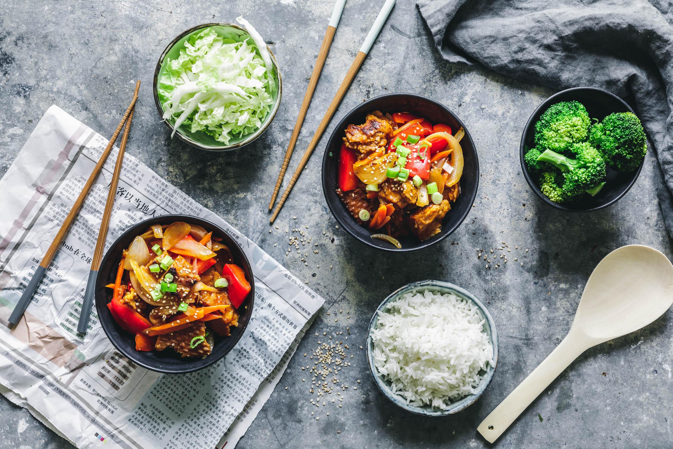 Seitan Süß Sauer Eat This Foodblog Vegane Rezepte Stories