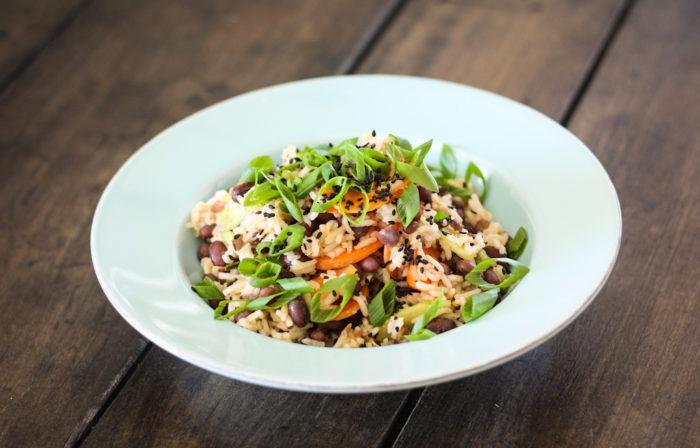 Würziger Azuki-Bohnen-Reissalat-1