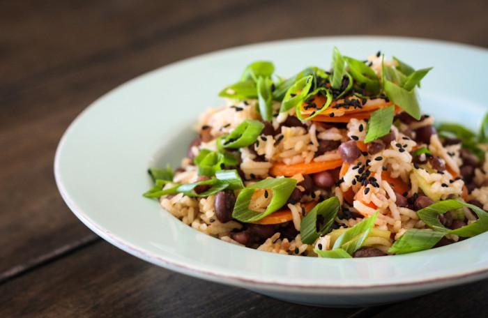 Würziger Azuki-Bohnen-Reissalat-3
