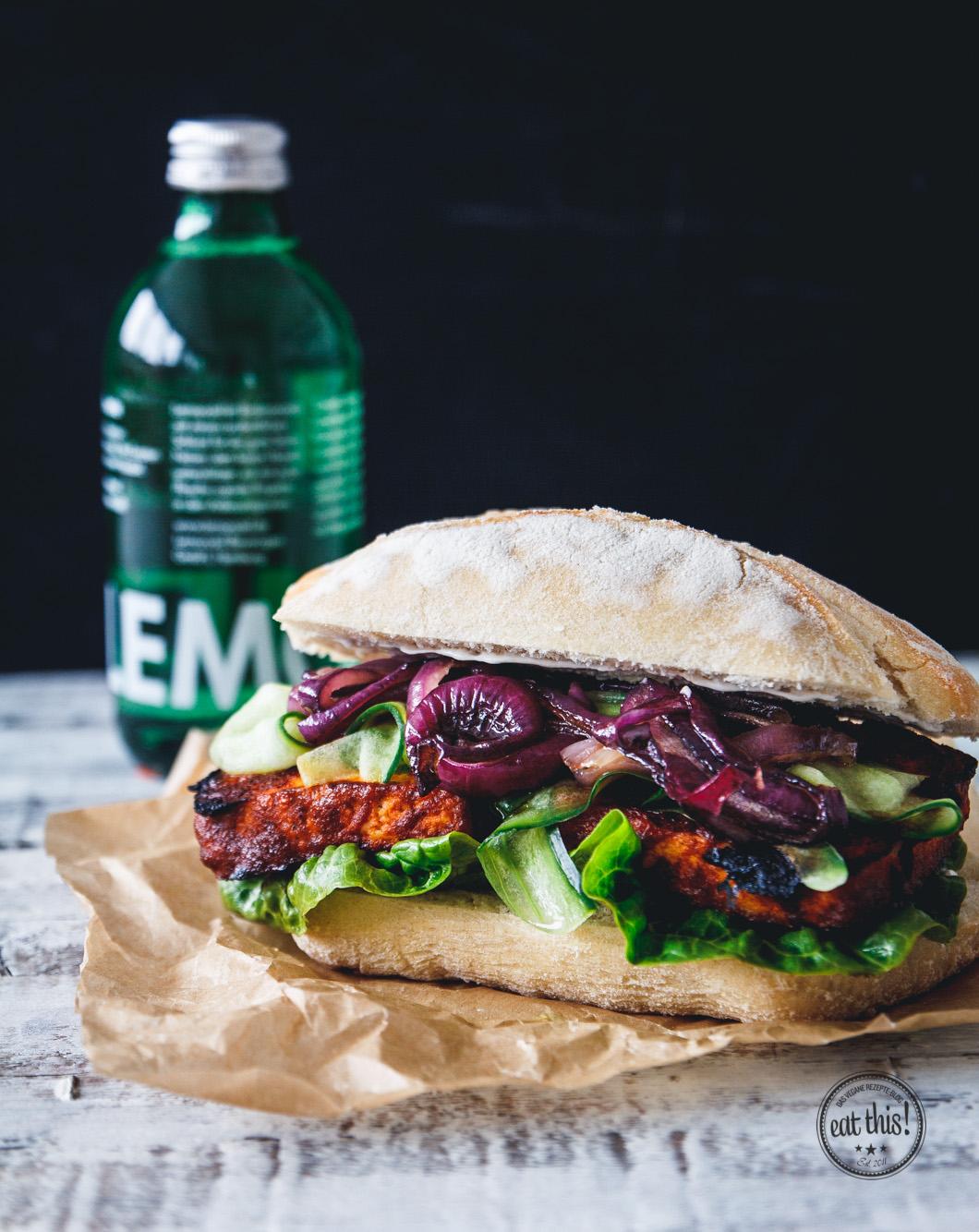 Barbecue Tofu Sandwiches Recipes — Dishmaps