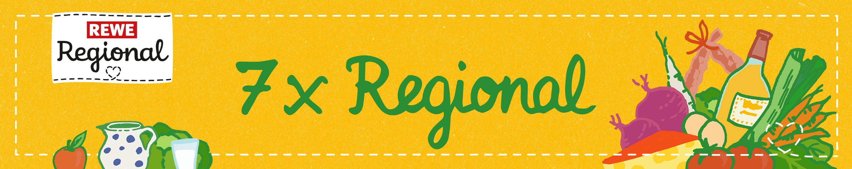 REWE Regional - 7 x Regional