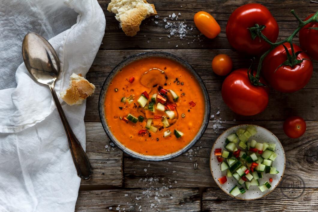 Fruchtige Chili Gazpacho