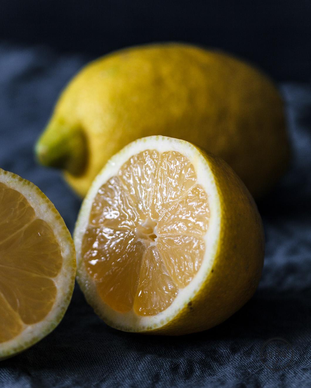 Zitronen Makro