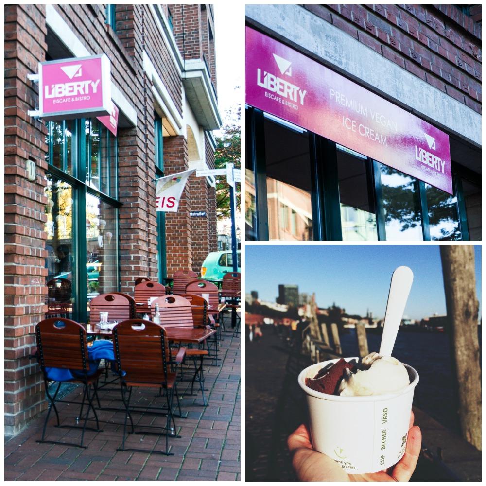Hamburg Vegan - Eiscafe Liberty