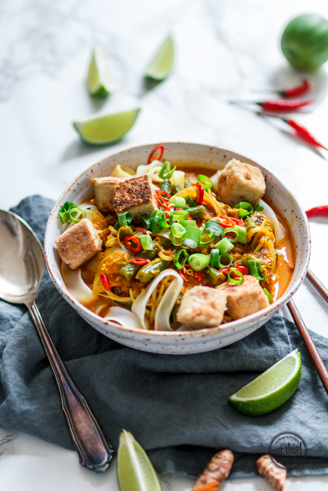 "Kurkuma-Curry ""Singapore Style"""