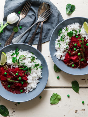 Rote Bete-Curry
