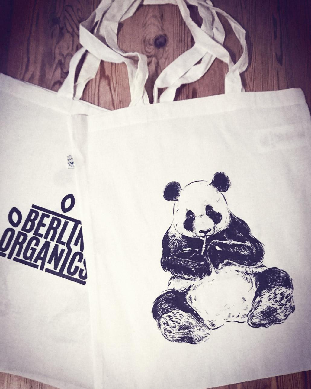 Berlin Organics Pandatasche