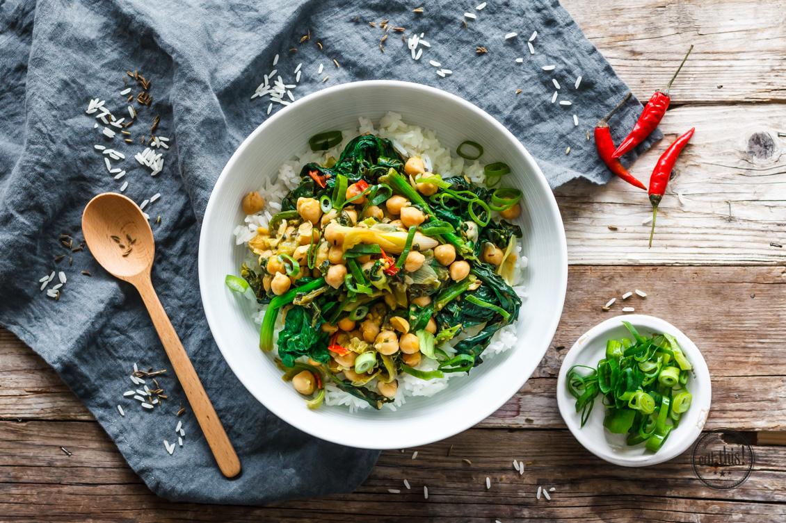 Spinat-Kichererbsen-Curry mit Kapern-1