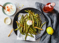 Green Bean Fries aus dem Ofen