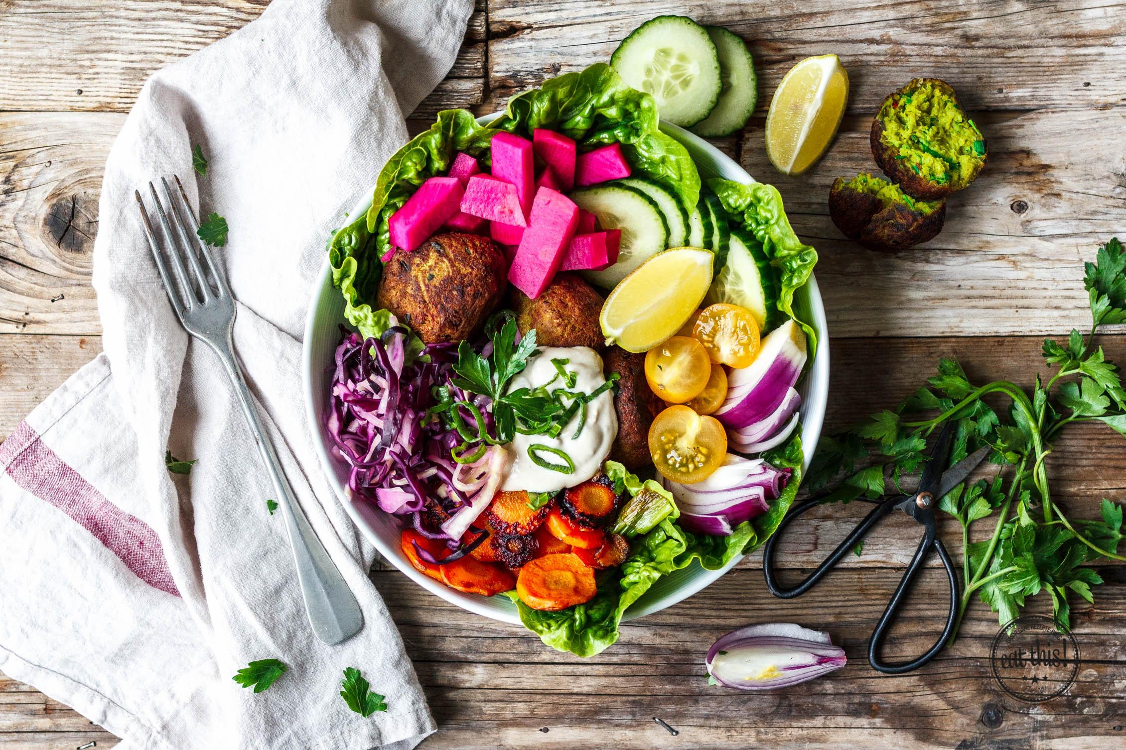 Good Life Falafel Bowl Eat This Foodblog Vegane Rezepte Stories