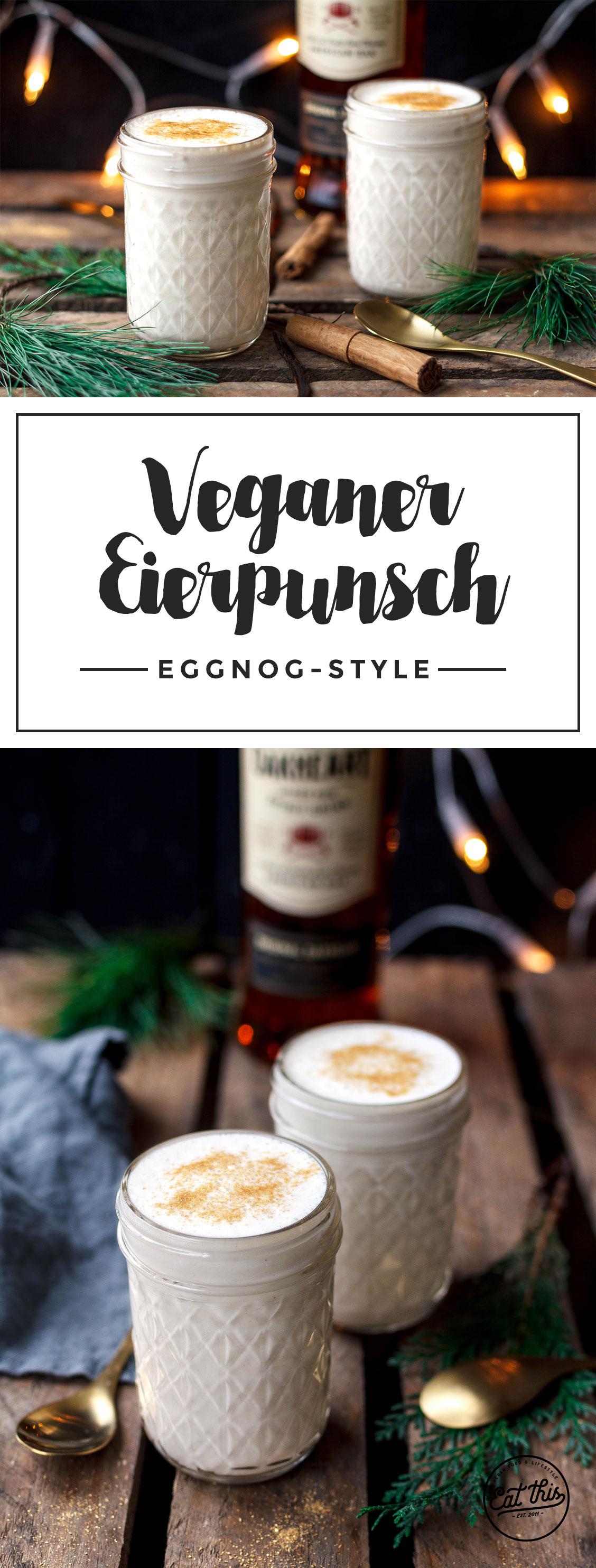 Veganer Eggnog