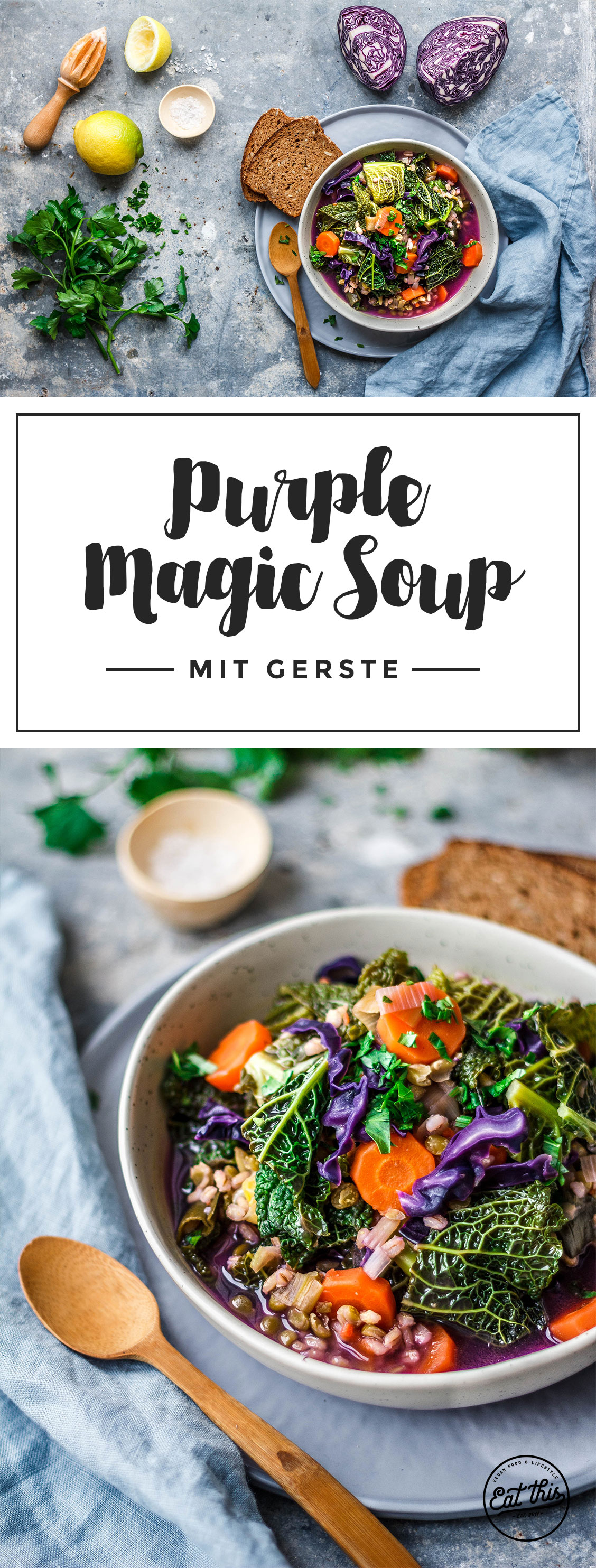 Purple Magic Soup