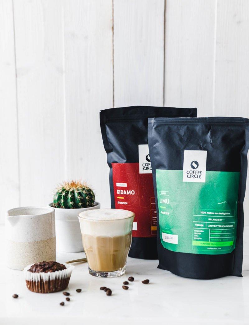 Genial einfacher veganer Milchschaum & Caffè Latte mit Coffee Circle