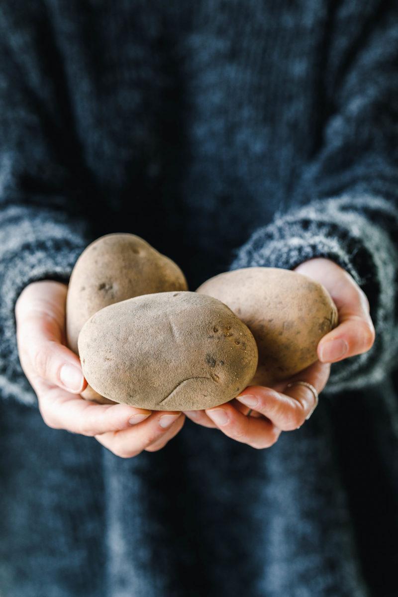 Kartoffeln - Kumpir mit Couscous & knackigem Salat