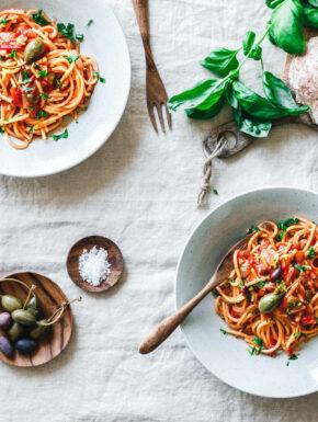 One Pot Spaghetti alla puttanesca