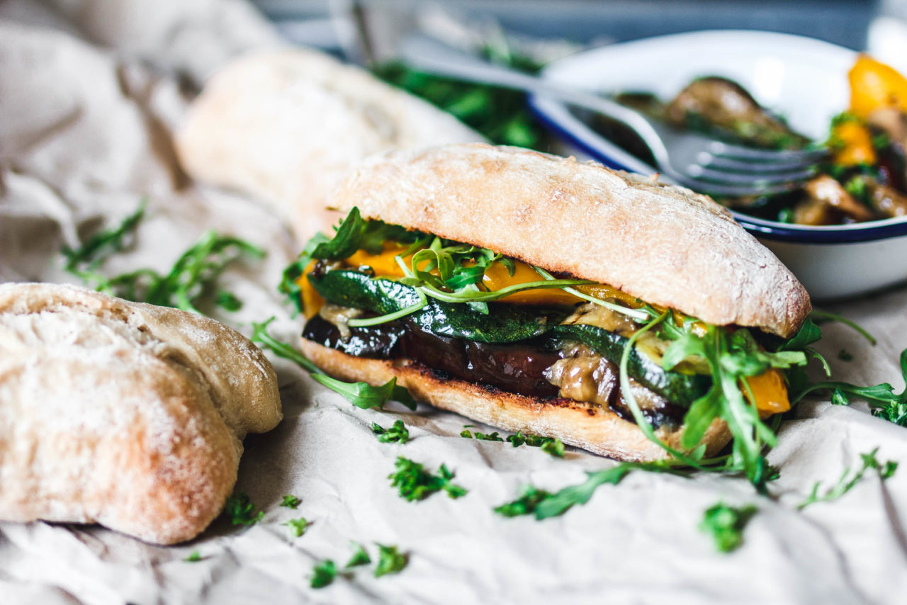 Vegan Grilled Veggie Sub