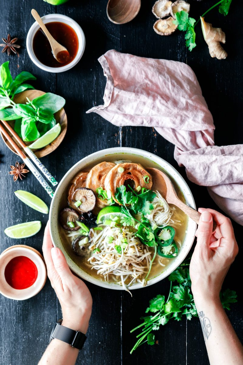 schnelle vegane pho · eat this! vegan food & lifestyle