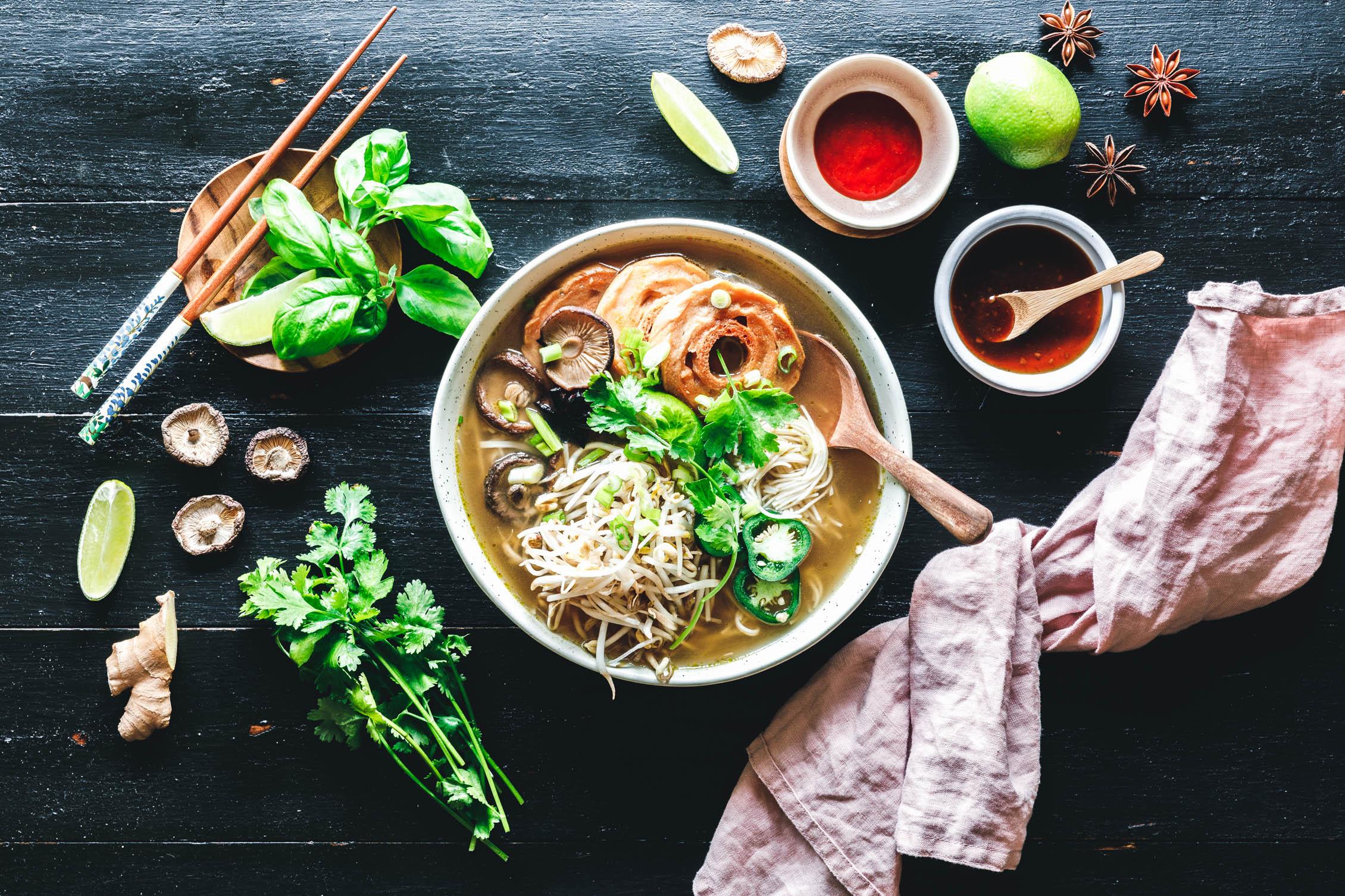 Schnelle Vegane Pho Eat This Foodblog Vegane Rezepte Stories