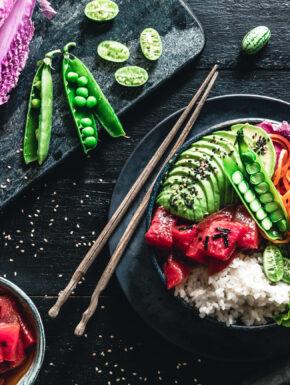 Vegane Poke Bowl