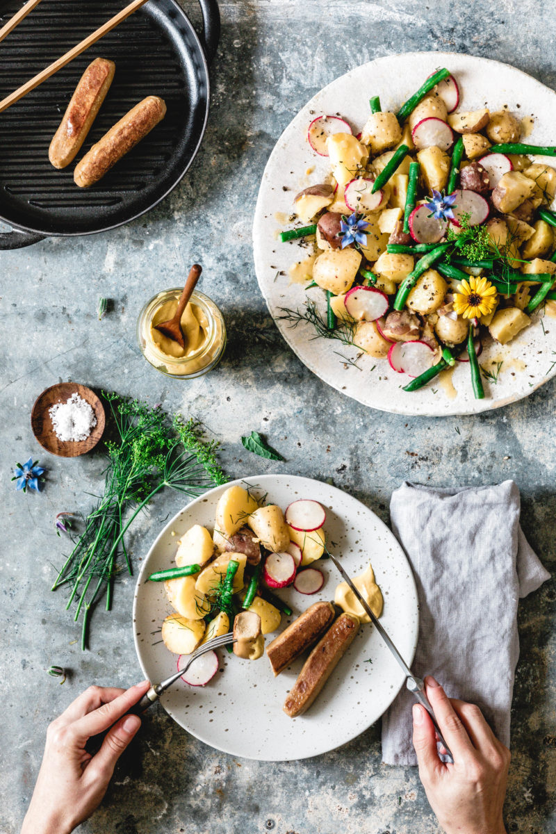 Unser allerliebster Kartoffelsalat