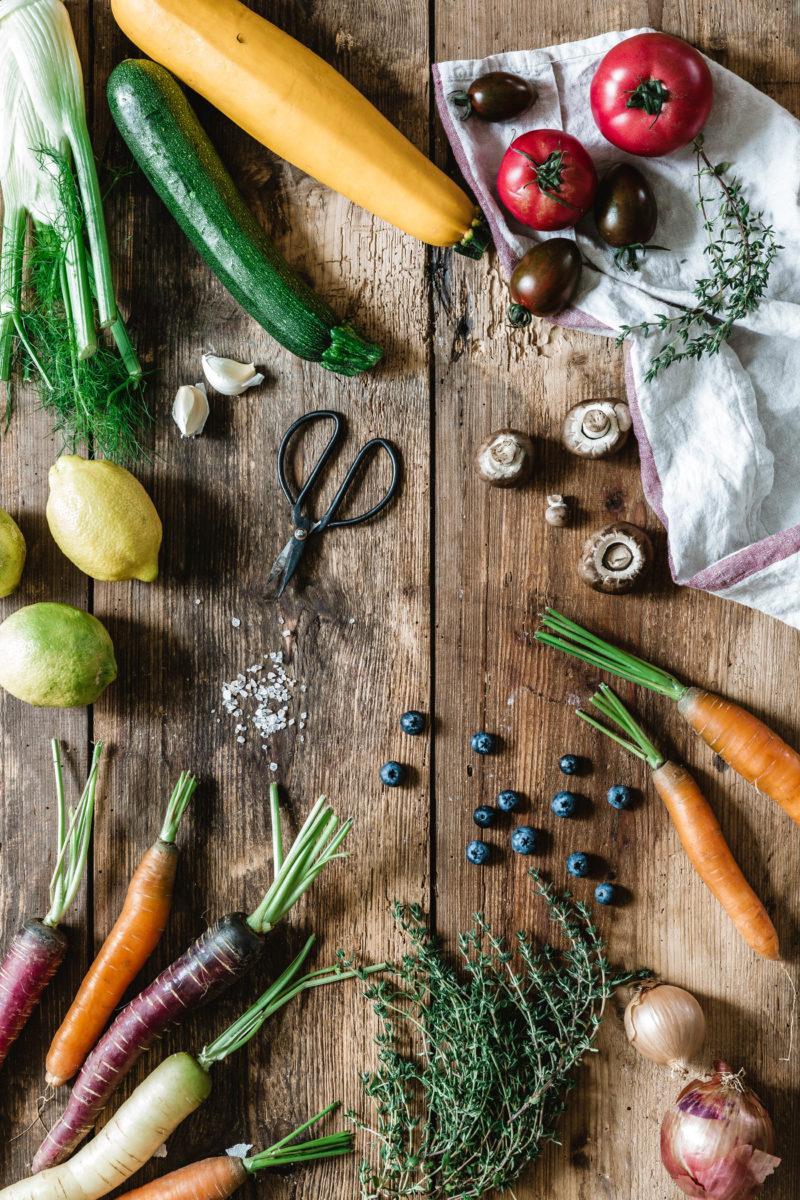 Gemüse im Spätsommer