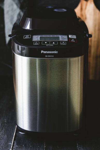 Reines Dinkel-Sauerteigbrot aus dem Panasonic SD-ZB2512