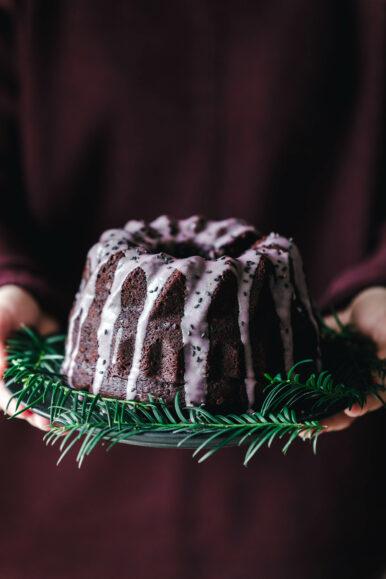Veganer Rotweinkuchen Mit Lebkuchengewurz Eat This Foodblog