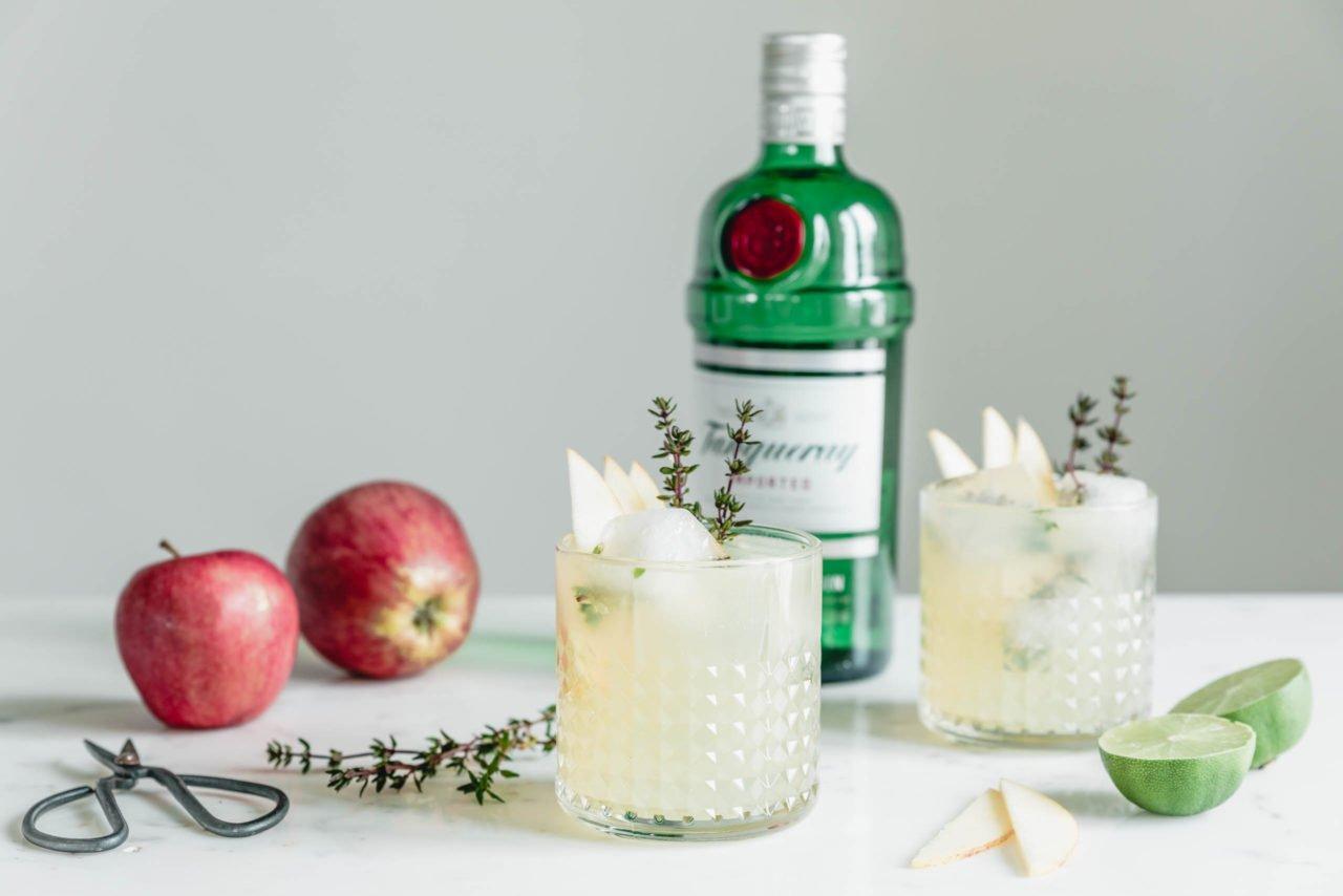 Soho Sling – Gin Cocktail mit Thymian · Eat this! Foodblog • Vegane ...