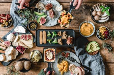 Veganes Raclette