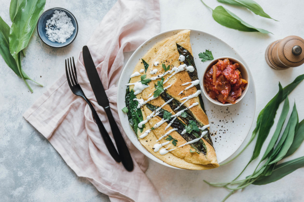 veganes omelette mit kichererbsenmehl b rlauch eat this foodblog vegane rezepte stories. Black Bedroom Furniture Sets. Home Design Ideas