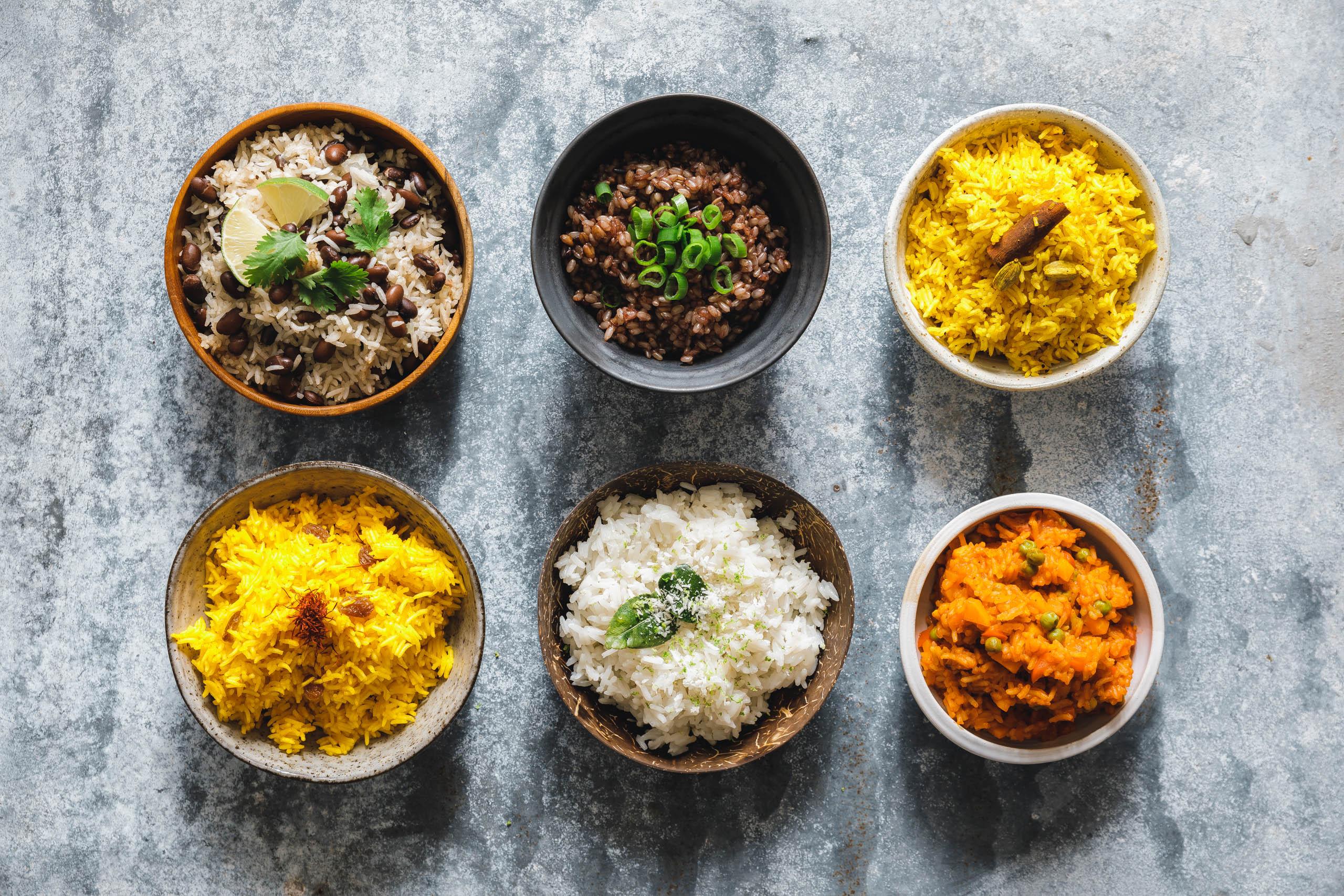 Es gibt Reis, Baby! Die 6 leckersten Reisbeilagen aus dem Reiskocher