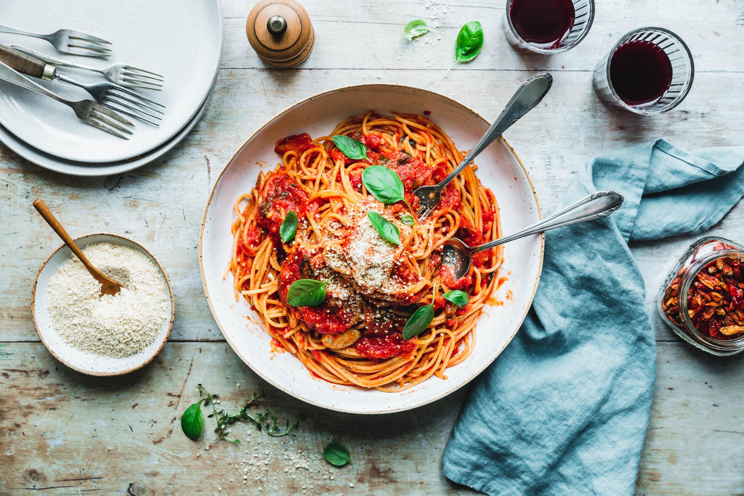 Spaghetti Napoli? Pasta al Pomodoro!