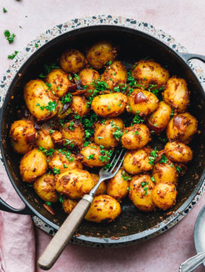 Bombay Potatoes –(anglo-)indische Curry-Kartoffeln