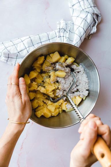 Skordalia –griechischer Kartoffel-Knoblauch-Dip