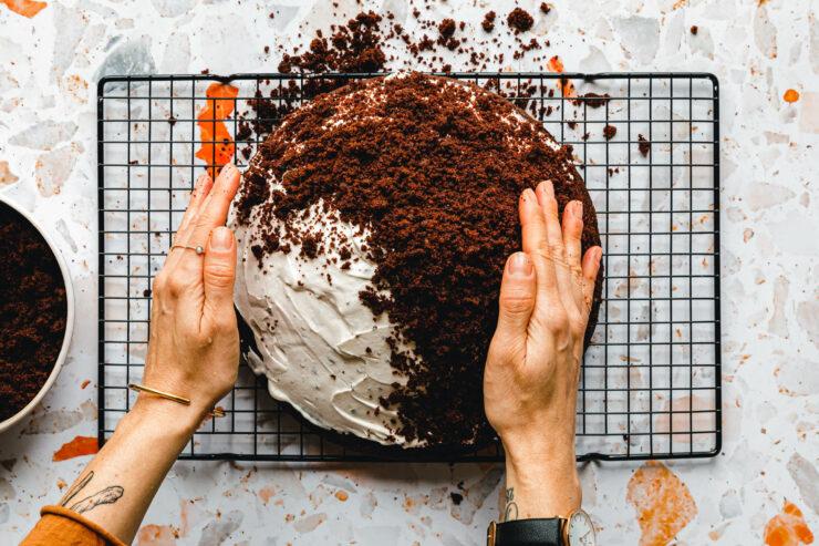 Maulwurfkuchen – Schritt für Schritt