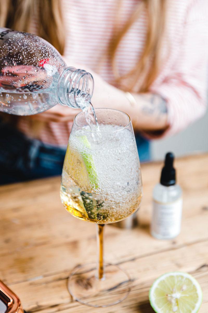 Wasser aromatisieren