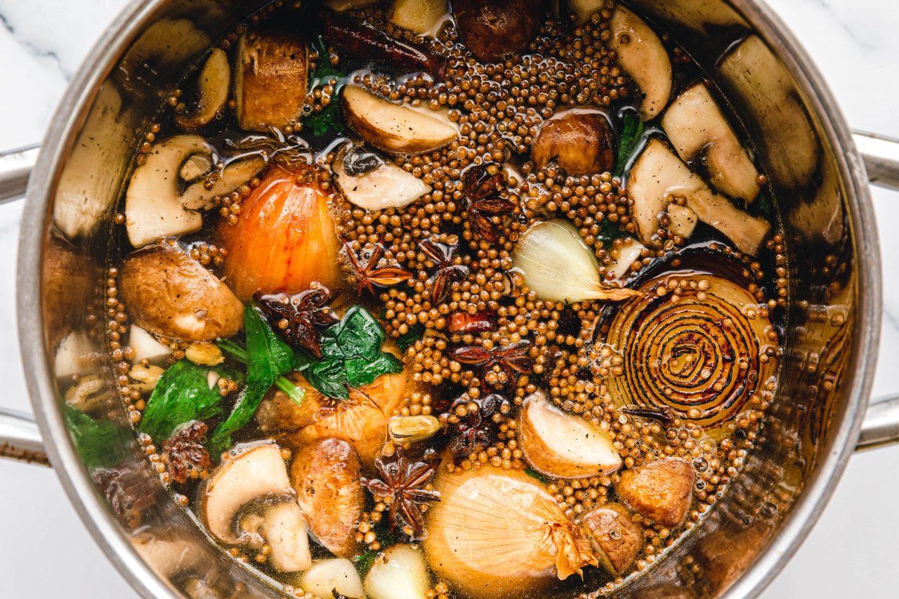 Zubereitung Pho Chay